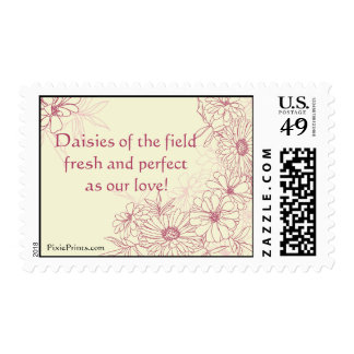 Daisies Galore Postage Stamp