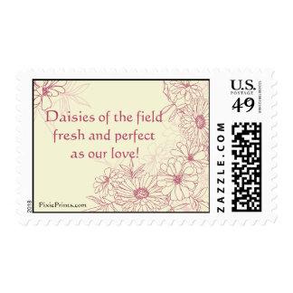 Daisies Galore Postage Stamp