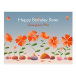 Daisies Happy Birthday Postcards
