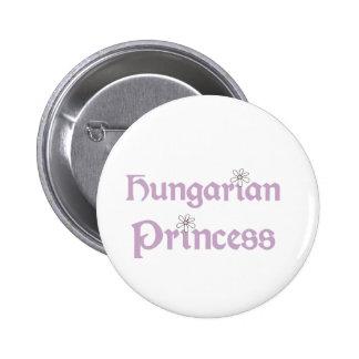 Daisies Hungarian Princess Pinback Button