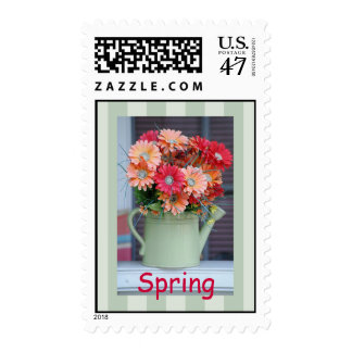 Daisies in a Can, Spring Stamp