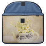 Daisies in a Teapot MacBook Pro Sleeve