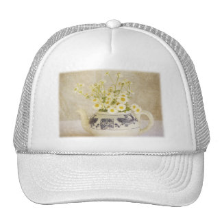 Daisies in a Teapot Trucker Hat