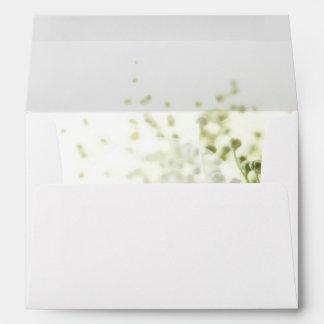 Daisies in Love- Editable Wedding Bouquet Envelope