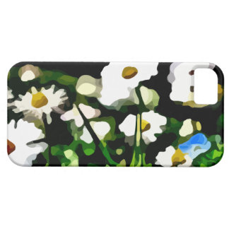 Daisies in Meadow painting iPhone 5 Cases