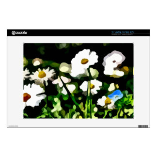 """Daisies in Meadow painting Skins For 13"""" Laptops"""