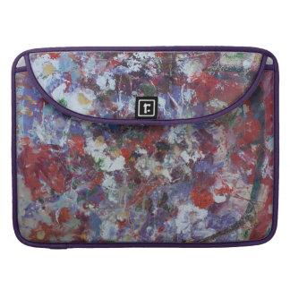 Daisies in Purple Sleeves For MacBook Pro