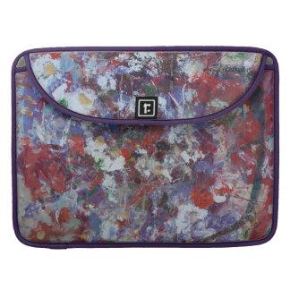 Daisies in Purple Sleeve For MacBook Pro