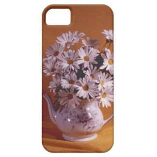 Daisies In Teapot iPhone5 Case iPhone 5 Cover