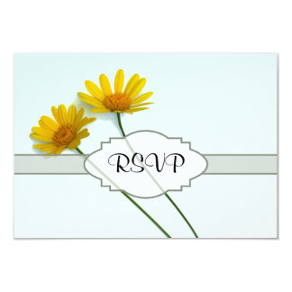 Daisies in the Sky Nametag Card