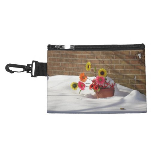 Daisies In The Snow Accessories Bag