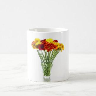 Daisies in Vase Coffee Mug