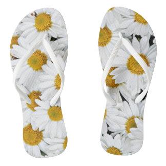 Daisies Flip Flops