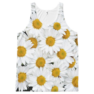 Daisies All-Over Print Tank Top