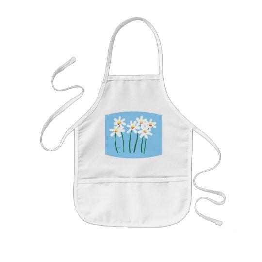 daisies kids' apron