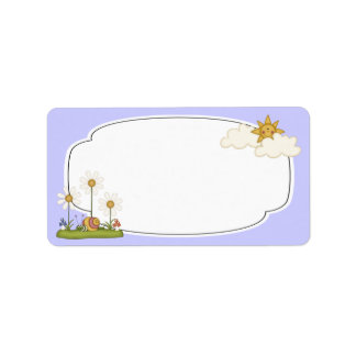 Daisies Label Personalized Address Labels