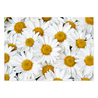 Daisies Large Business Card