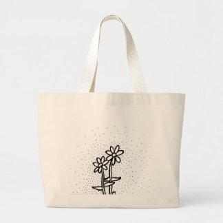 Daisies Large Tote Bag