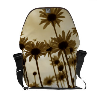Daisies messenger bag courier bag