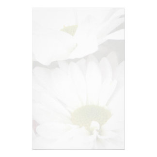 Daisies-Muted Floral Stationery Design