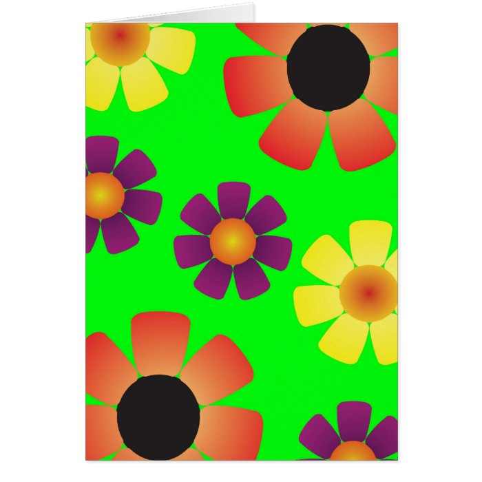 Daisies Notebook Card
