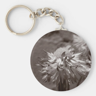 Daisies of Peace Basic Round Button Keychain