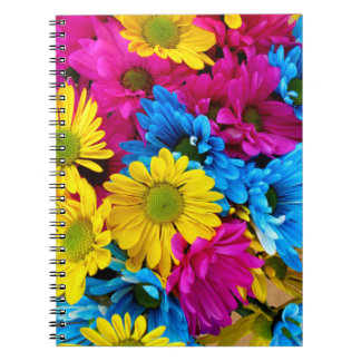 Daisies on Photo Notebook (80 Pages B&W)