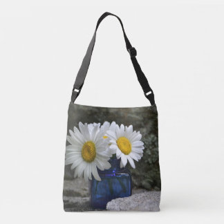 Daisies On The Rocks Tote Bag