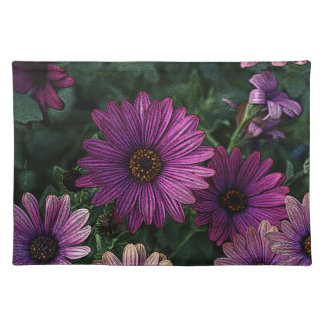 Daisies on the Table: Placemat Cloth Placemat