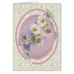 DAISIES & OVALS by SHARON SHARPE Cards