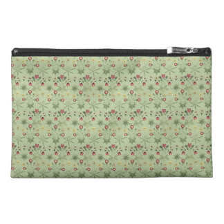 Daisies Over Mint Green Coordinates Travel Accessory Bag