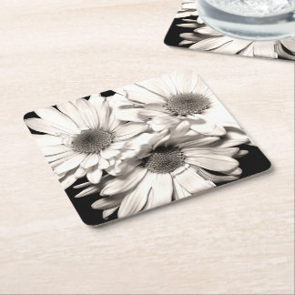Daisies Paper Coasters
