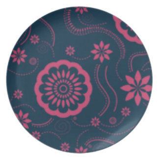 Daisies Party Plate