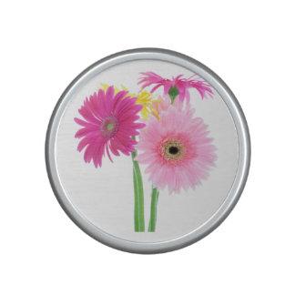 Daisies Pink Bluetooth Speaker