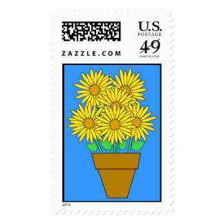 Daisies Postage