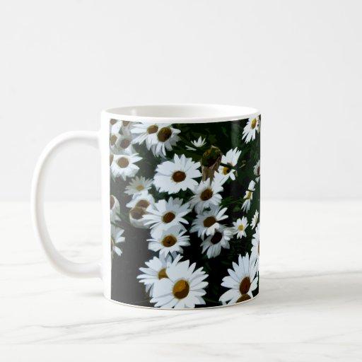 Daisies Stylized I Mugs