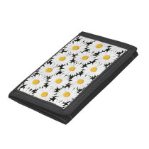 Daisies Trifold Wallet