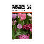Daisies Tulips Hyacinths Stamp