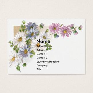 Daisies Victorian Trade Card