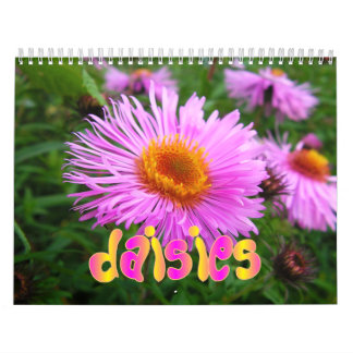 Daisies Wall Calendar