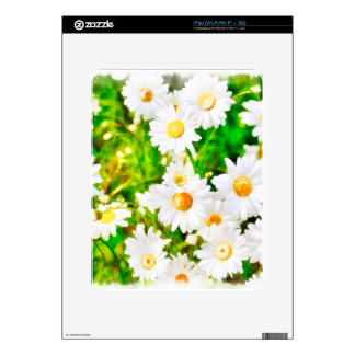 Daisies Watercolor iPad Skin
