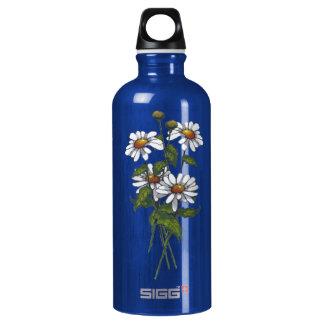 Daisies: Wildflowers: Nature Art Aluminum Water Bottle