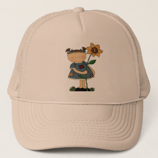 Daisy 1st Birthday Trucker Hat