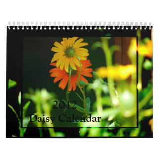 Daisy- 2012 calendar