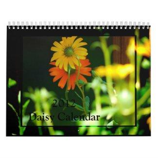 Daisy- 2012 calendar calendar