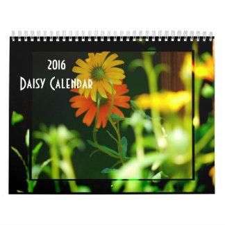 Daisy- 2016 calendar