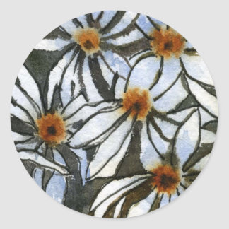 """Daisy 2"" Floral Sticker"