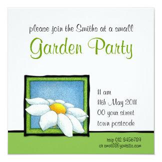 Daisy 2 Garden Party Invitation