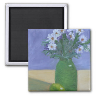 Daisy 2 Inch Square Magnet