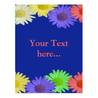 daisy-3, su texto aquí… tarjetas postales
